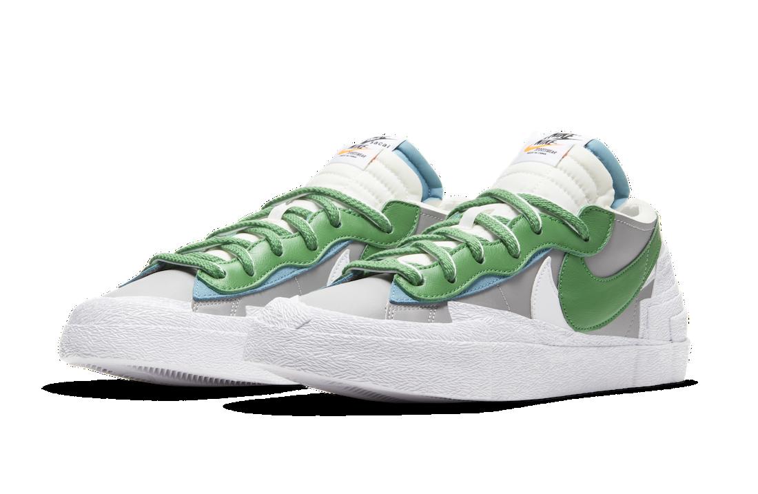 sacai x Nike Blazer Low « Classic Green »