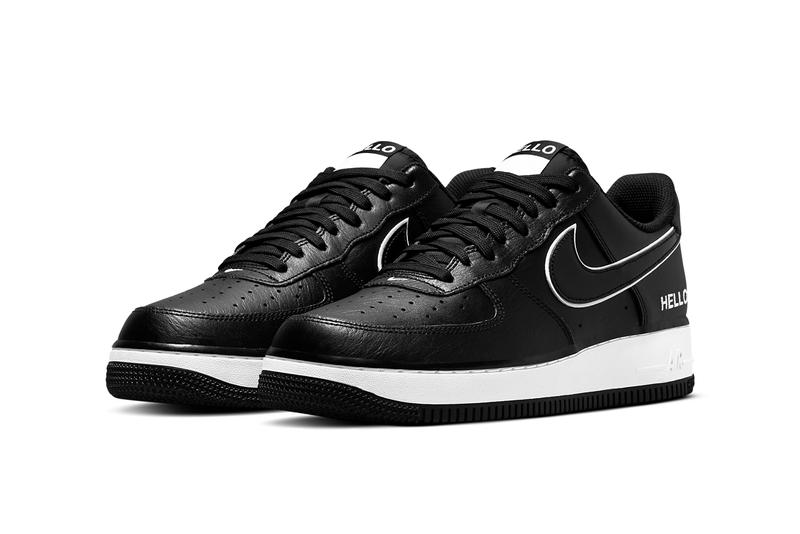 Nike Air Force 1 Low « Hello, My Name Is »