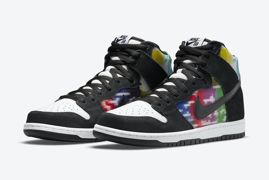 Nike SB Dunk High « TV Signal »