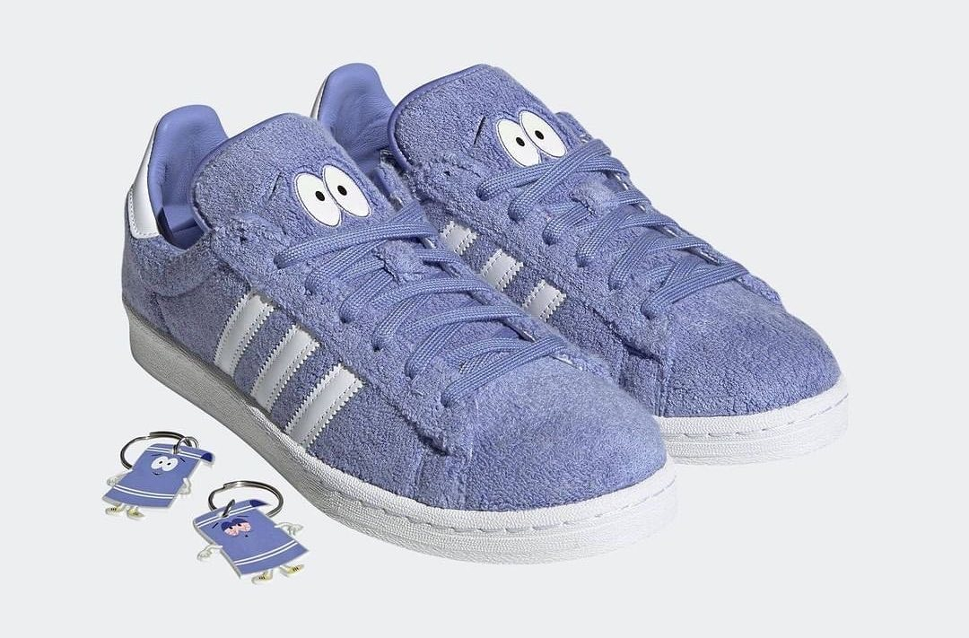 "South Park x adidas Campus 80s ""Towelie"""