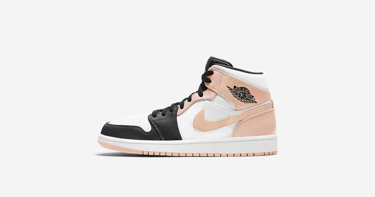 Air Jordan 1 Mid Crimson Tint - Le Site de la Sneaker