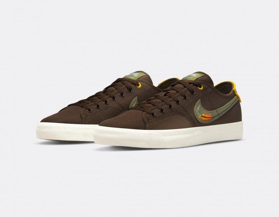 Daan Van Der Linden x Nike SB Blazer Court « Baroque Brown »
