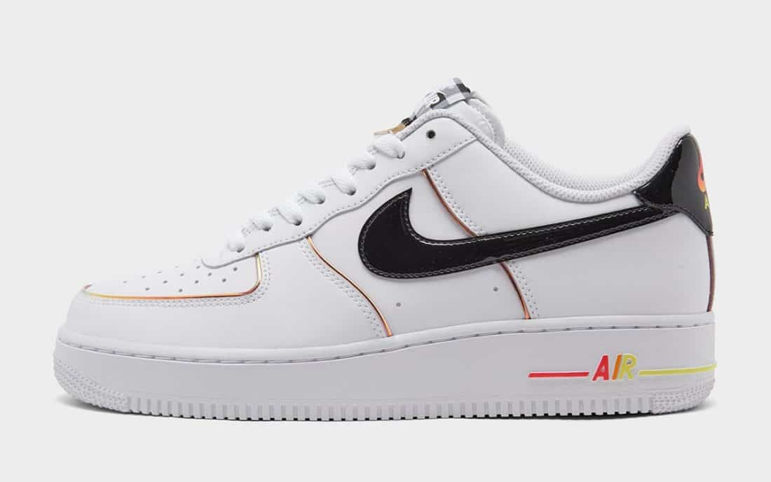 nike air force orange and purple blue color code