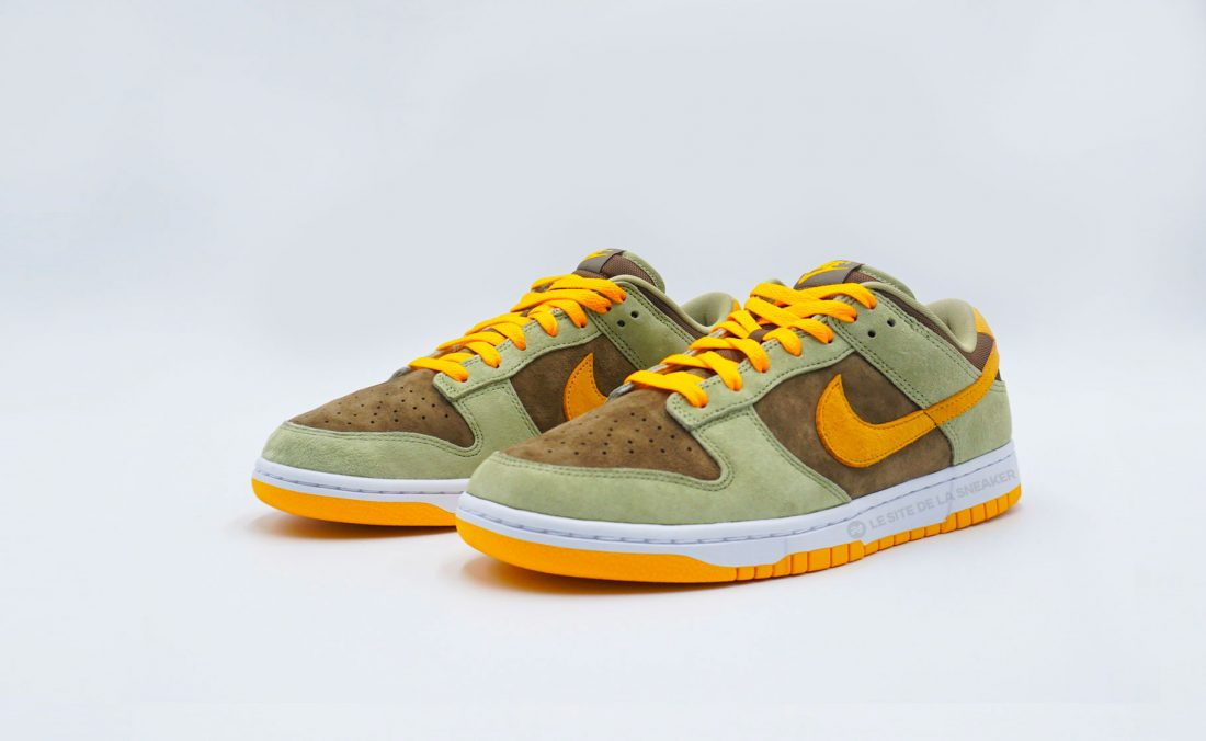 Nike Dunk Low Olive Gold