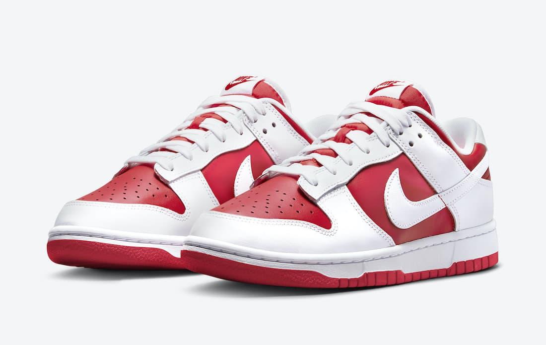 Nike Dunk Low « University Red »