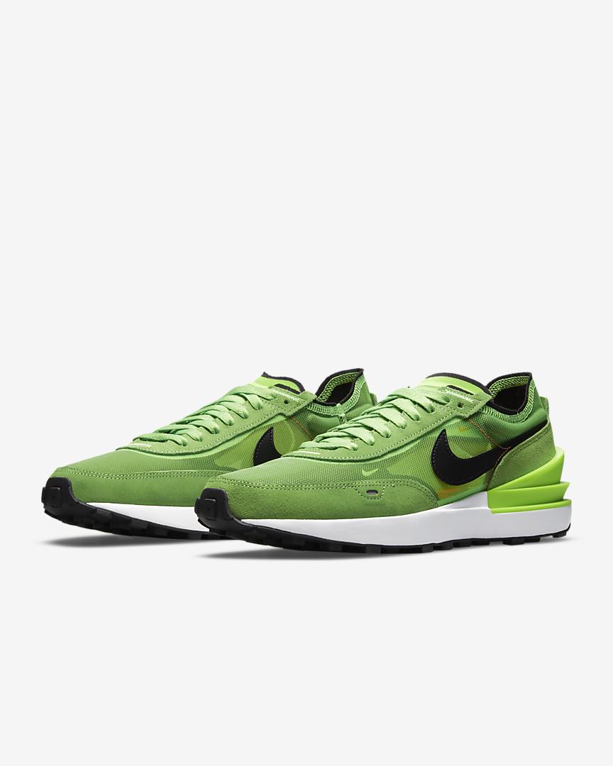 Nike Waffle One « Electric Green »