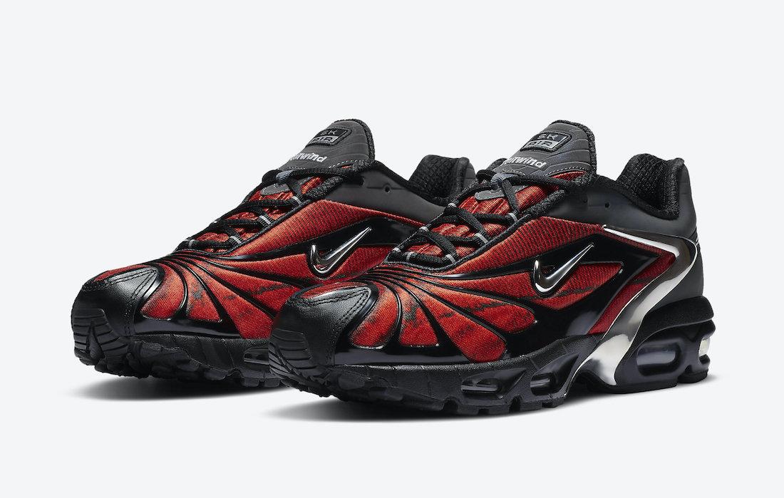 Skepta x Nike Air Max Tailwind V « Bloody Chrome »