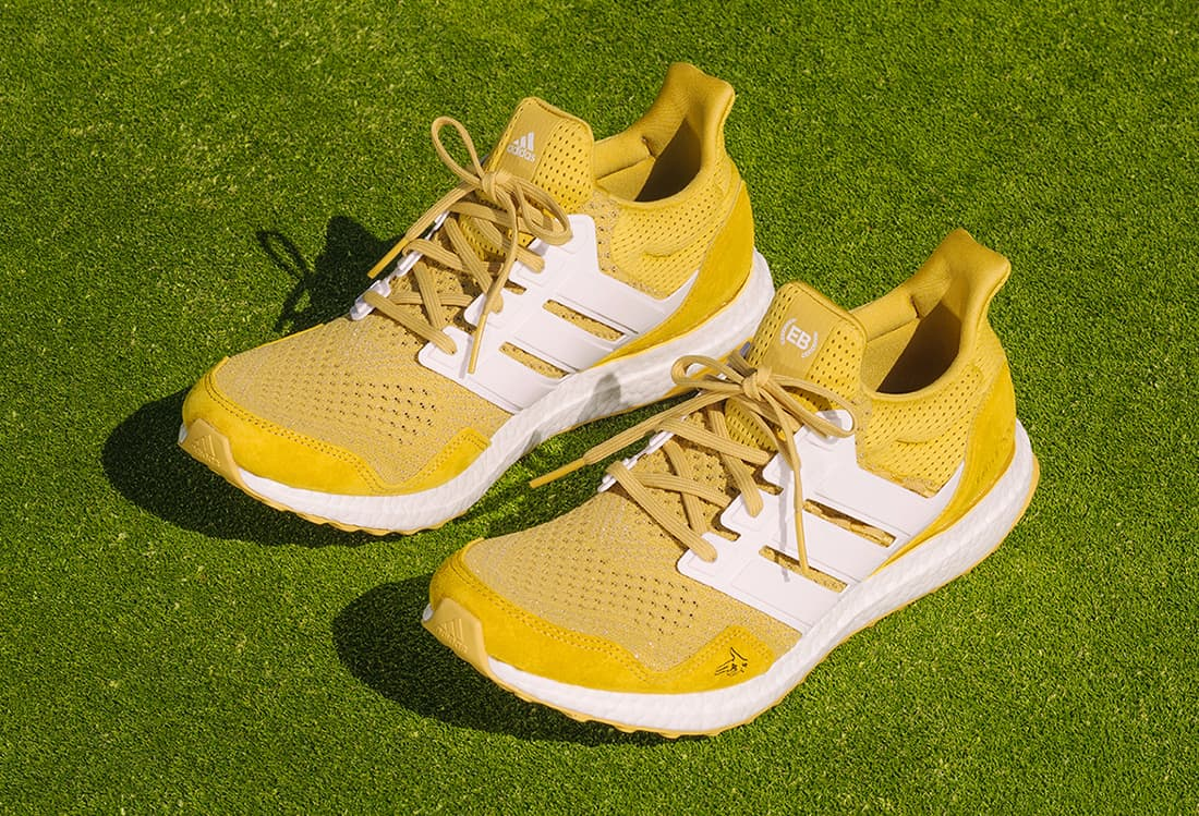 Extra Butter x Happy Gilmore x adidas Ultra Boost 1.0 « Gold Jacket »