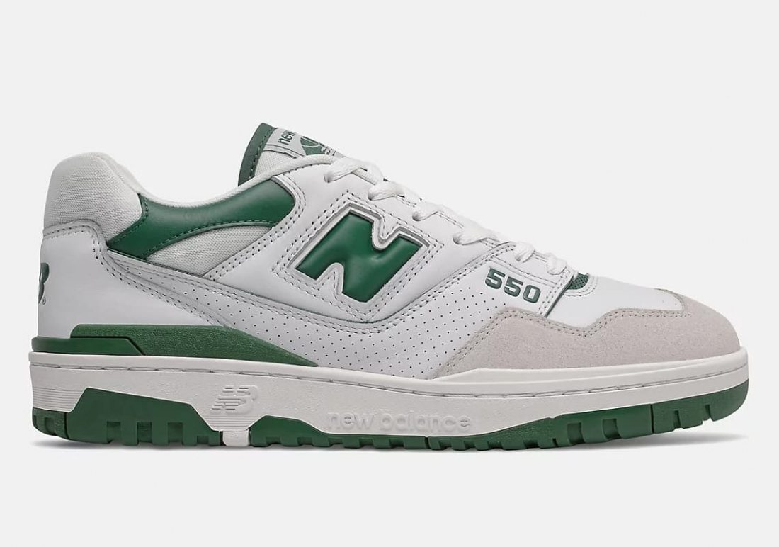 New Balance 550 « White/Green »