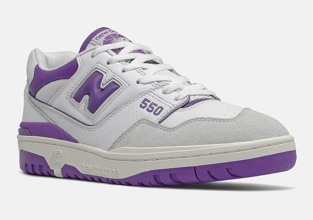 New Balance 550 « White/Purple »