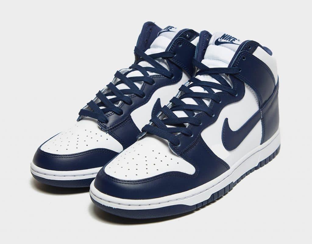 Nike Dunk High « Midnight Navy »