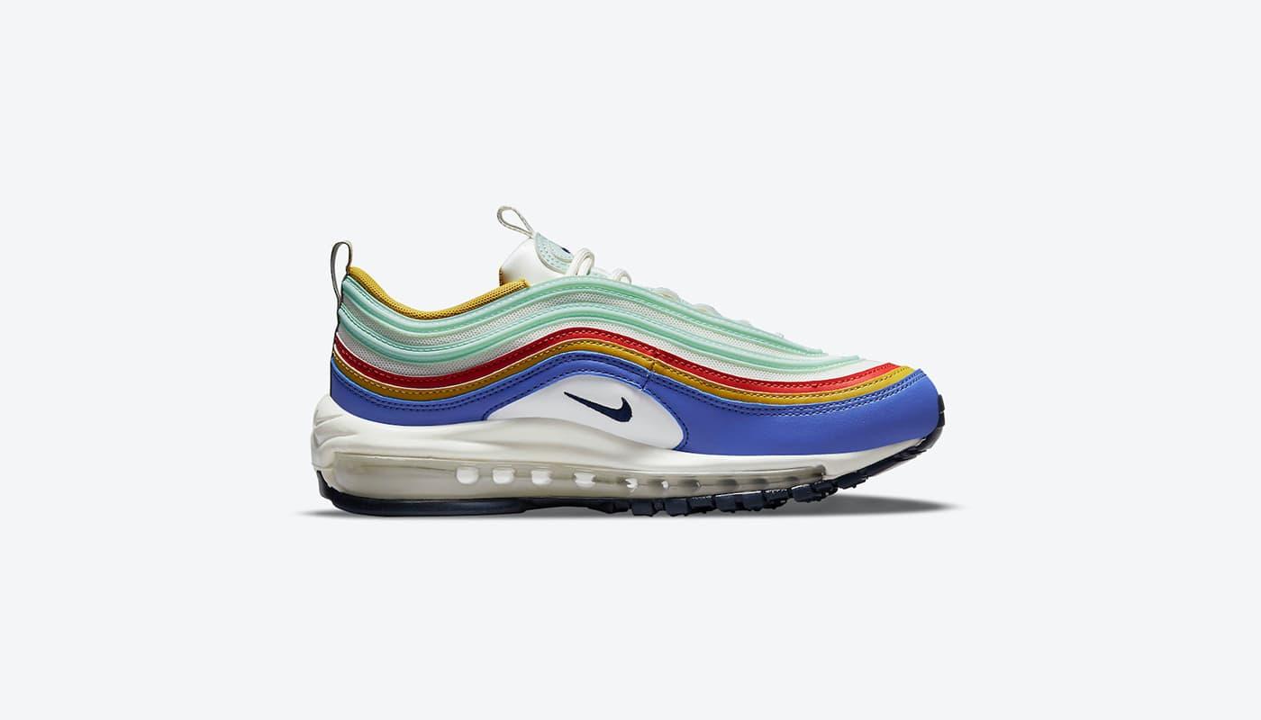 Pluie de couleurs avec la Nike Air Max 97