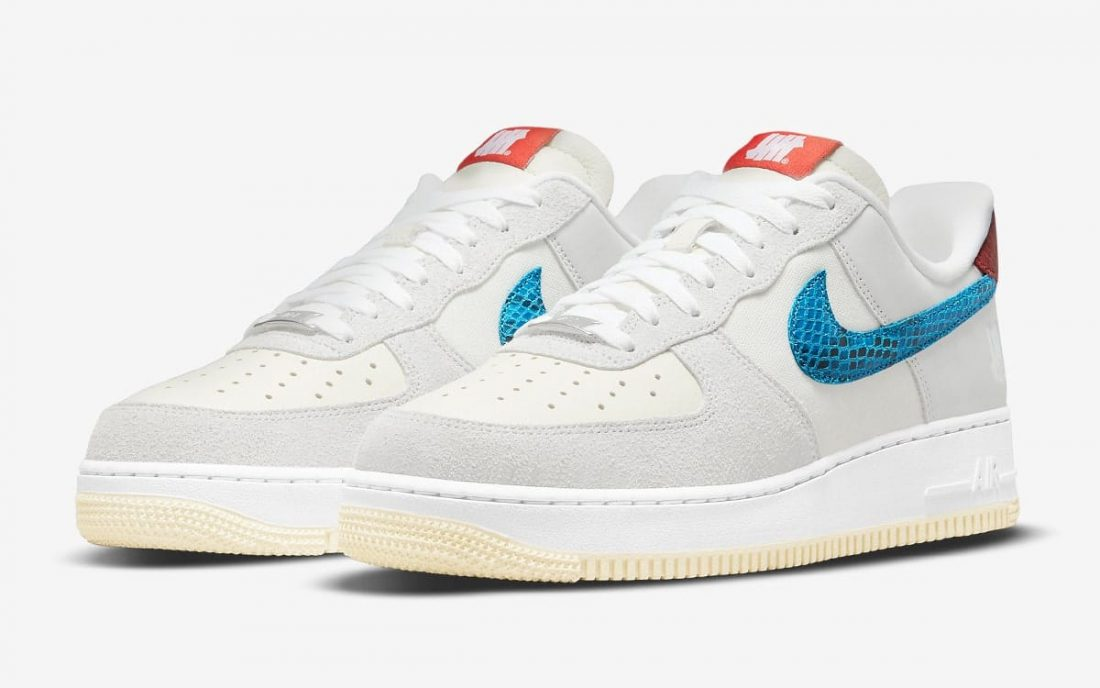 Undefeated x Nike Air Force 1 Low «5 on It»