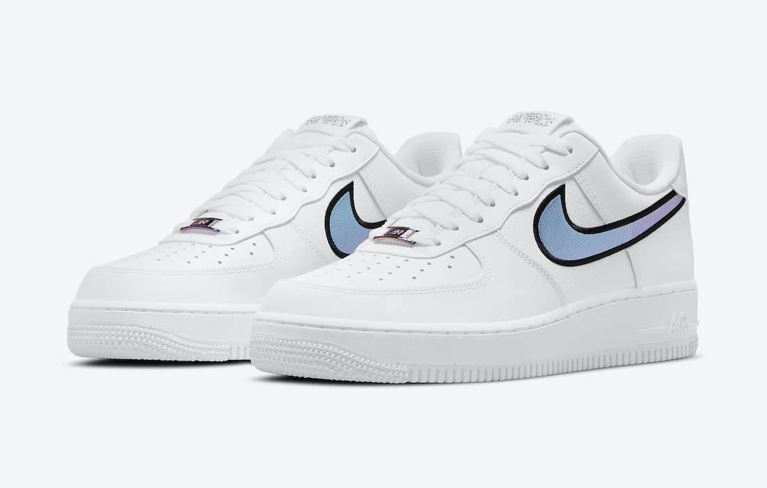 Nike Air Force 1 Low «Iridescent Swooshes»
