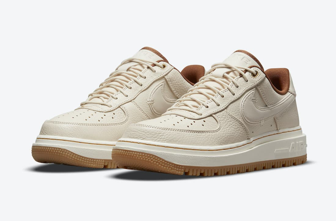 Nike Air Force 1 Low Luxe «Pearl White»