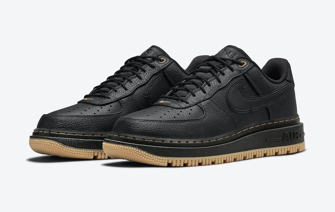 Nike Air Force 1 Luxe «Black Gum»